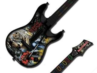 SKIN FITS GUITAR HERO 4 WORLD TOUR 360 PS3 IRON MAIDEN