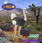 PAPO Wild Life OSTRICH Birds 50073 BRAND NEW