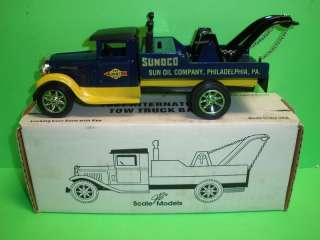 SUNOCO 1931 INTERNATIONAL TOW TRUCK WRECKER 1994 ERTL MIB NEW