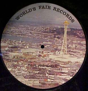 Seattle world Fair picture Vinyl Record Mint in Package