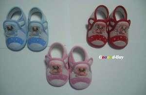 Baby boys girls toddler unisex bear shoes size 3 4 5