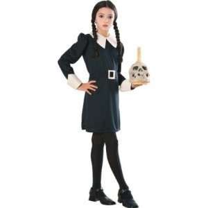 TM Addams Family Costume (Dress only   Wig, Candle and T: Toys & Games