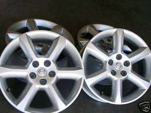2005 2006 2007 2008 Altima Infiniti 350Z Wheels Rims OEM New 4