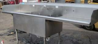 Compartment Stainless Steel Sink 3531, Commercial, Kitchen