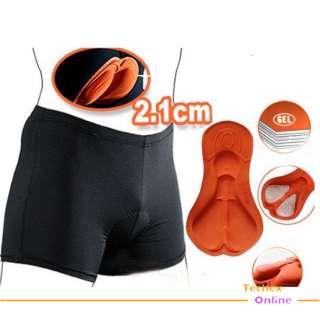 Men Women Bike Bicycle 3D SHORTS PAD Cycling Pants underwear bottom