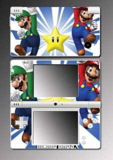Brothers Luigi 3D Land World Game Skin Cover #12 Nintendo DSi