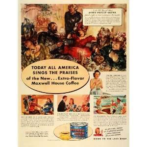 1942 Ad Maxwell House Coffee Slogan John Philip Sousa John
