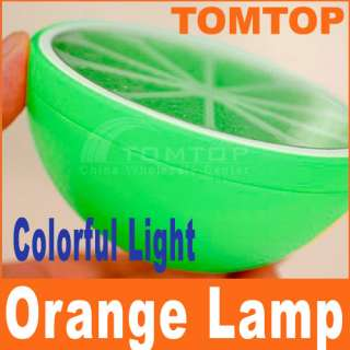 New Green Mini Lovely LED Colorful Orange Night Light