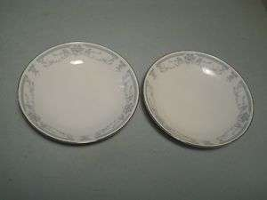 Sheffield Blue Whisper Lot of 2 Berry Bowls Fine Porcelain China Japan
