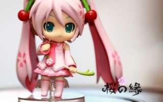 VOCALOID Sakura Hatsune Miku anime PVC Doll Figure toy with Box 11cm