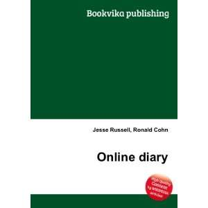 Online diary Ronald Cohn Jesse Russell Books