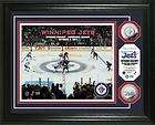 2011 Winnipeg Jets Opening Face Off Silver Coin Photo Mint