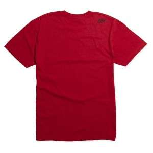 Fox Racing Carbon Fiber Mens Red T Shirt New NWT