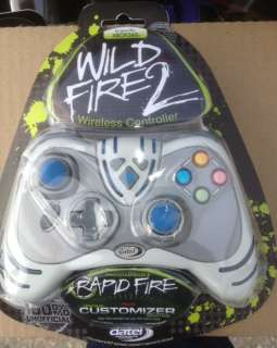 NEW sealed Xbox 360 Wireless Cordless Wild Fire 2 Rapid White