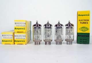 1x 6267/EF86/6BK8 AMPEREX Tube Lampe Röhre Valvola NOS