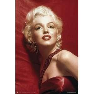 Monroe   Marilyn Monroe (Red)   35.7x23.8 inches