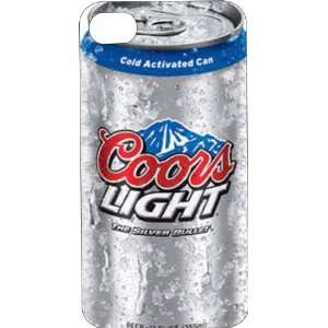 Clear Hard Plastic Case Custom Designed Coors Light iPhone
