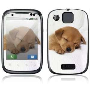 Animal Sleeping Puppy Design Protective Skin Decal Sticker