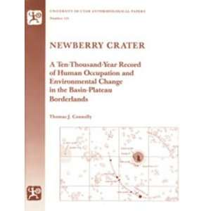 Newberry Crater Anthropological Papers Number 121