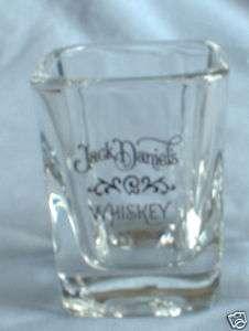 JACK DANIELS WHISKEY SQUARE SHOT GLASS