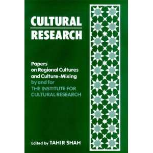 Cultural Research: Papers on Regional Cultures and Culture