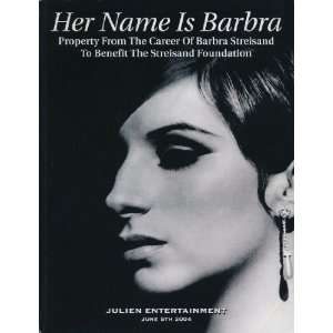 Saturday, June 5, 2004 Darren Julien, Barbra Streisand Books