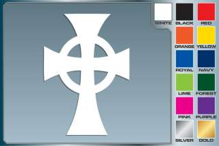 BOONDOCK SAINTS Cross logo cut vinyl iPhone Car decal