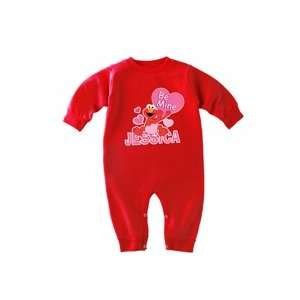 Valentines Day Gifts   Personalized Abby and Elmo Valentine Fleece