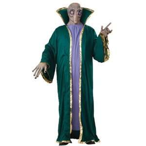 Alien Deluxe Halloween Fancy Dress Costume & Mask Toys & Games