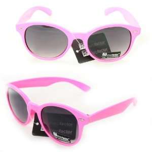 Wayfarer Fashion Sunglasses 6908 Pink Plastic Frame Purple Black