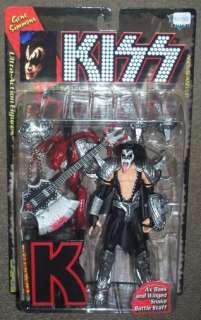 McFarlane Kiss Gene Simmons Action Figure MOC RARE HOT