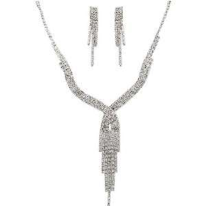 Days of Our Lives ~ Nicole DiMera ~ Rhinestone Necklace and Earrings