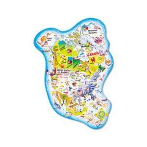 Giant North America Map Floor Puzzle Home & Kitchen