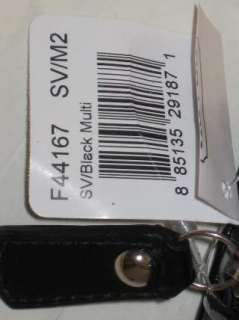 NWT Auth COACH Soho Black Multi Cosmetic Case F44167