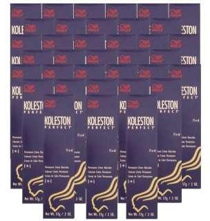 Wella Koleston Perfect 7/4 Flame Red 2oz (57g) x 36pcs