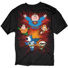 Shirt Tee FAMILY GUY NEW Super Crew Peter Stewie MEN