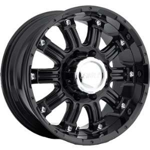 American Eagle 61 18x9 Black Wheel / Rim 5x5 with a 20mm Offset and a