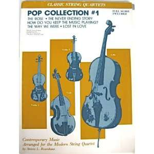 Pop Collection #1 (Classic String Quartets, IF0176