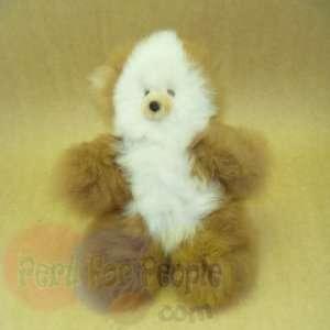 100% Peru Baby Alpaca Fur Stuffed Teddy Bears 9 BEW