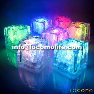 Water Activated Color Changing LED Light Cup Shot Glass