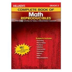 Complete Book of Math Reproducibles  Grade 2 (9781429104562) Books