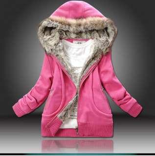 Neuf Automne Hiver Femme épaississent Manteau en coton Casual Top