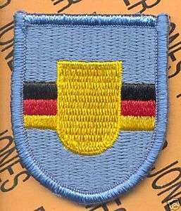 5th QM Co Quartermaster Airborne Germany Flash patch