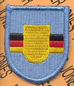 5th QM Co Quartermaster Airborne Germany Flash patch