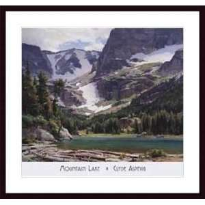 Lake   Artist: Clyde Aspevig  Poster Size: 31 X 27: Home & Kitchen