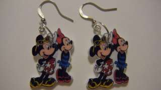 Disney Mickey Minnie Mouse Beach summer swim Earrings