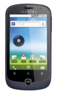 ALCATEL OT990 BLUISH BLACK ANDROID QUADBAND CELL PHONE