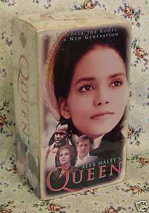 Alex Haleys Queen 3VHS Halle Berry Glover Ann Margaret 085391269731
