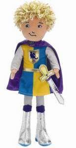Groovy Girl Knight Keanan Plush Boy Doll Prince NEW 011964443147