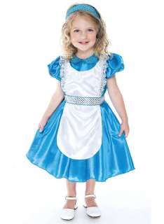 ENCHANTED ALICE Halloween Costume Child Size 2T NEW